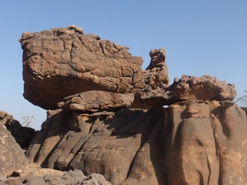 Dogonland vor Bandiagara-tortue