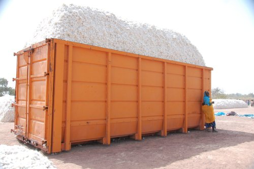 Transport dans les conteneurs