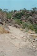 Straße auf das Plateau von Golea