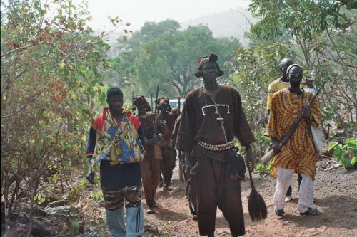 Die Jäger von Golea empfangen uns