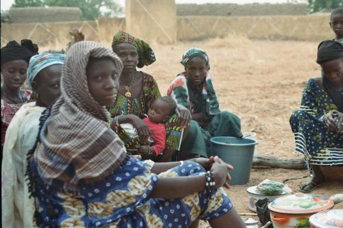 Réunion des femmes de Djigué