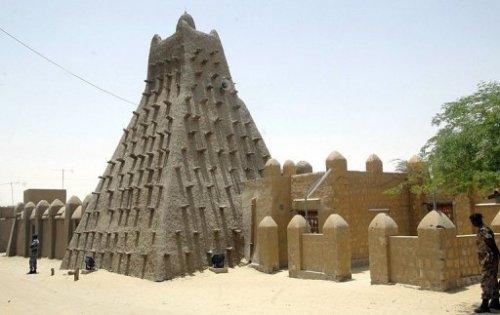 Die Sankaré-Moschee in Timbuktu