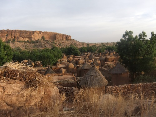 Songho,village dogon