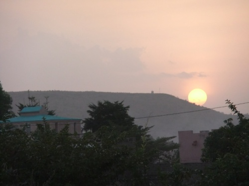 Sonnenuntergang Kati