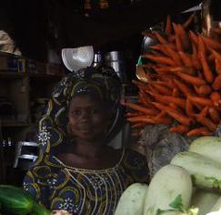 Gemüsestand marchande