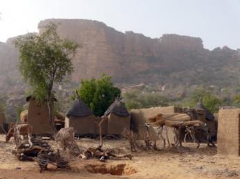 Le village de Koundou au pays dogon