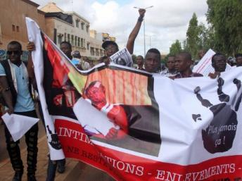 Les journalistes maliens ont défilé dans les rues de Bamako, mardi 17 juillet