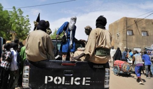 La police islamique patrouille dans les rues de Gao, au nord du Mali, le 16 juillet 2012