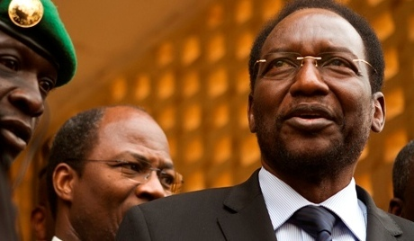 Pr Dionkounda Traoré, Président de la République par interim