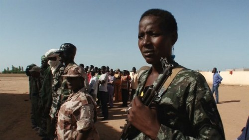 Milice à Mopti