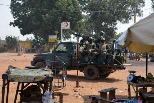 Des soldats burkinabé le 24 janvier 2013 à Markala