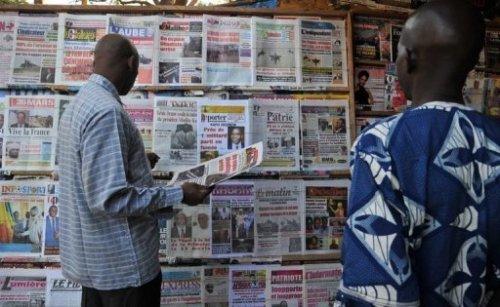 Les unes de la presse malienne, le 14 janvier 2013 à Bamako