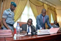 Le ministre malien chargé de l'Intérieur le Colonel Moussa SinkoCoulibaly, le 18 juin 2