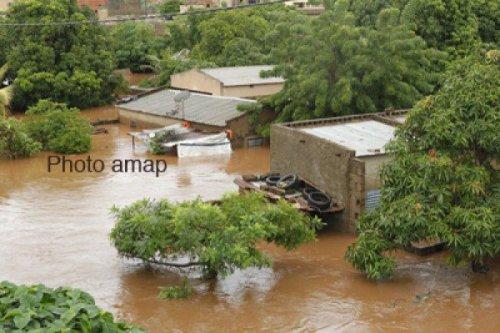 inondations à Bamako