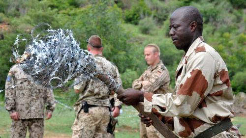 EUTM à Koulikoro: Soldats et instructeurs sont motivés