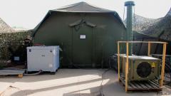 Mobiles Krankenhaus der Bundeswehr in Mali