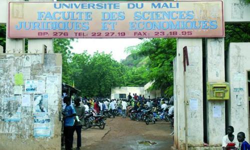 La faculté de droit à Bamako