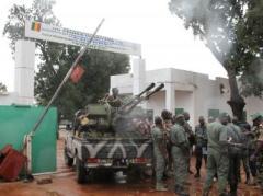 Entrée du camp militaire de Kati, près de Bamako, le 3 octobre 2013.