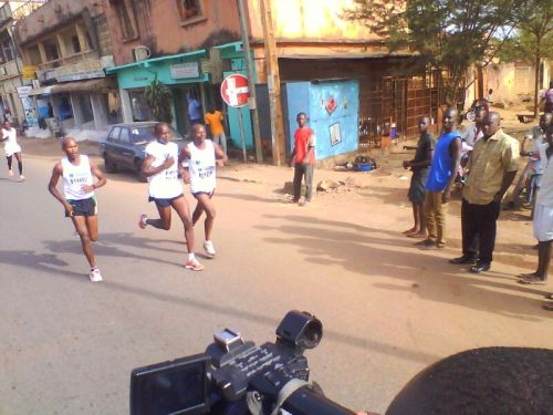 Muturi Karanga wins BoA Mali international marathon (2013)
