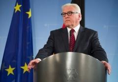 Le ministre allemand des Affaires étrangères Frank-Walter Steinmeier à Berlin le 15 janv 2014