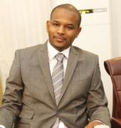 Le Ministre de l'Industrie et des Mines, Dr Boubou Cissé