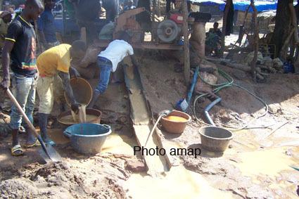 orpaillage-régions-Sud-Ouest-Mali