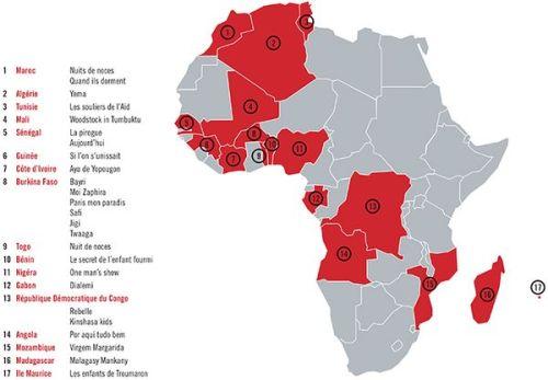 Les 24 films de CINE AFRIQUA 86