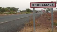 A la frontière vers la Guinée