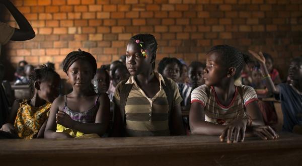 Dans une école de Bangui, en mars 2014.(c) Siegfried Modola