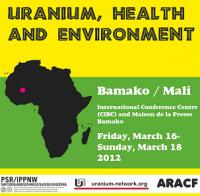 Conférence sur l'Uranium, la santé et l'environnement