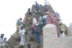 UNESCO and the European Union have undertaken to reconstruct the cultural heritage of Timbu