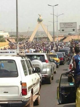 22.05.14 Manif à #Bamako #feekidal (c) Fier(e) d'Etre Malien(ne)