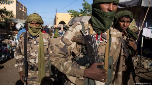 Soldaten der malischen Armee