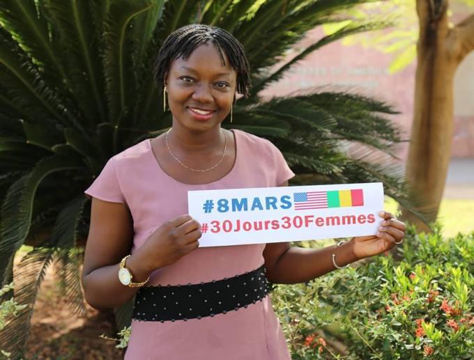Mariam Koné, une jeune auteur-compositeur et interprète originaire de Kati
