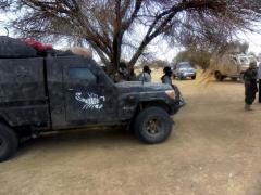 Des soldats tchadiens près de Kidal, le 16 avril 2013