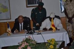 Signature de l'Accord de défense entre le Mali et la France, le 16 juillet 2014
