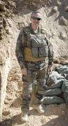 Photo non datée de Dejvid Nikolic posant au Mali, où il a été tué le 14 juillet 2014 dan
