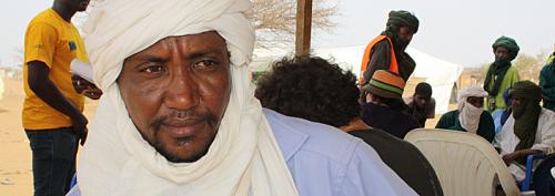 Waradine Ag Mohamed fordert ein verstärktes Engagement der internationalen Staatengemeinschaft in