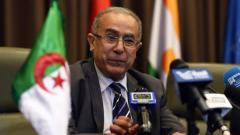 Le ministre algérien des Affaires étrangères Ramtane Lamamra, le 16 juillet 2014, à Alge