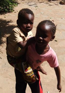 Zaliha et son frère Moussa