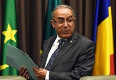 Le chef de la diplomatie algérienne Ramtane Lamamra le 1er septembre 2014 à Alger