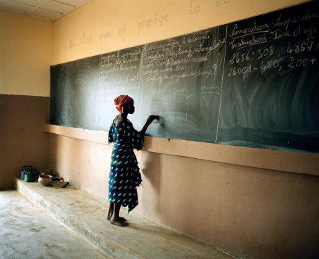A classroom in Mali. Susan Meiselas_Magnum Photos (2007)