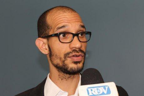 Charles Vieira Sanchez, l'un des iniateurs du mouvement Sen Stop Ebola