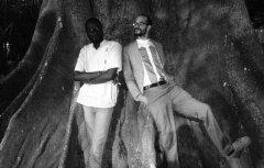 Cheikh Fall et Charles Vieira Sanches. (DR)