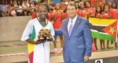ZOOM it: Foto (c) maliweb: Djénéba N'diaye, meilleure joueuse de l'Afrobasket U-18 2014