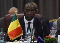 Le ministre malien des Affaires étrangères Abdoulaye Diop, le 16 juin 2014 à Alger