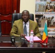 Le ministre de la Santé et de l'Hygiène Publique, Ousmane Koné