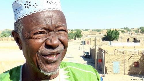 der Historiker Salem Ould El-Hadje