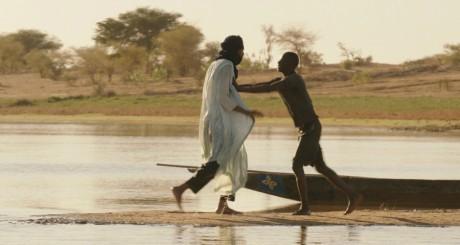 Timbuktu: scène au lac