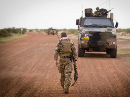 UN-Truppen sollen für Stabilität im westafrikanischen Mali sorgen